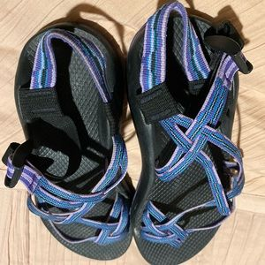 Purple & Blue Chacos